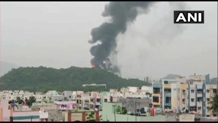 fire at hpcl