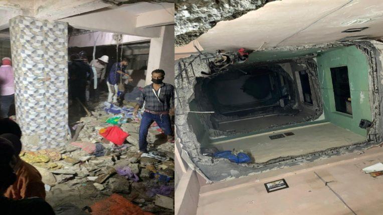 उल्हासनगरमध्ये Sai Shakti Buildingचा स्लॅब कोसळला; पाच जण मृत्यूमुखी, काहीजण मलब्याखाली अडकले असण्याची शक्यता