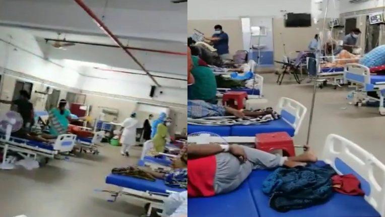 Sudden shutdown of oxygen supply; 22 patients died like fish