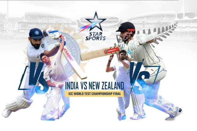 The first promo of India vs New Zealand match to the audience