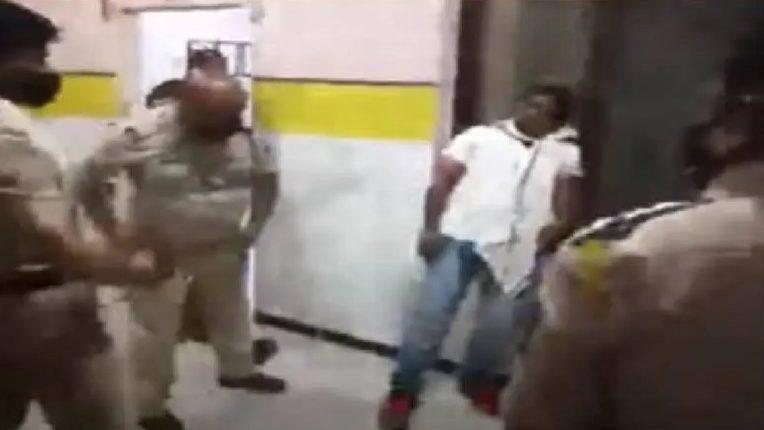शिवराज नारियलवाले मारहाण प्रकरणी पोलीस उपनिरीक्षकासह ५ कर्मचारी निलंबित…