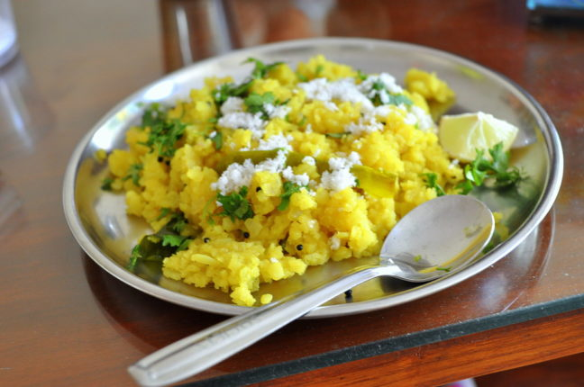 Absolutely the best breakfast! The benefits of eating poh for breakfast every day