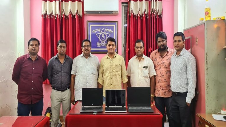 Cyber police find thief stealing laptop of railway passengers; 3 laptops worth Rs 1.5 seized