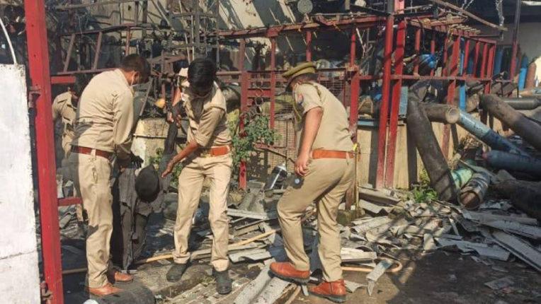 oxygen plant blast in uttar pradesh