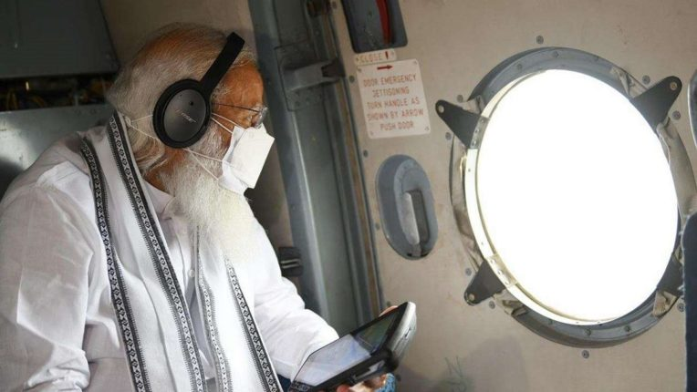 Prime Minister Modi forgets Maharashtra; 1000 crore aid to Gujarat