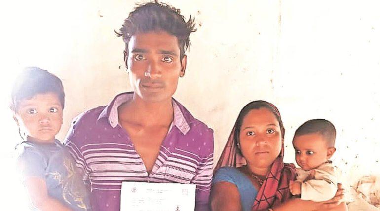 Struggling to prove himself alive; Dead shown in government records