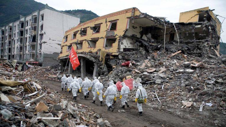 Earthquake shakes China; Three were killed and several were injured