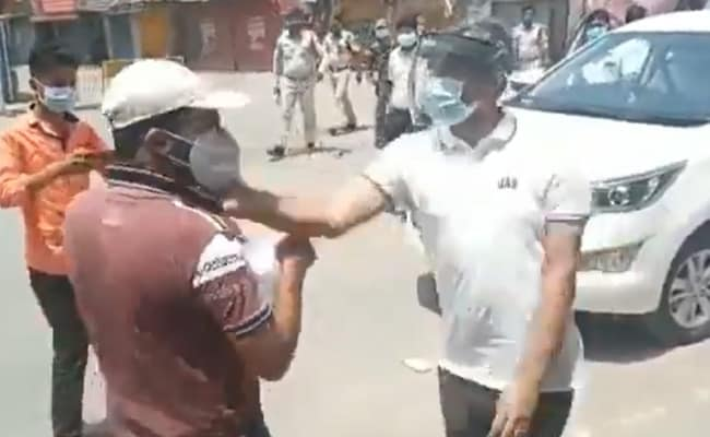 District Collector of Surajpur in Chhattisgarh Ranveer Sharma has been expelled for beating up a youth