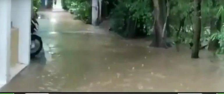खासदार श्रीनिवास पाटील यांच्या घरात शिरले ओढयाचे पाणी