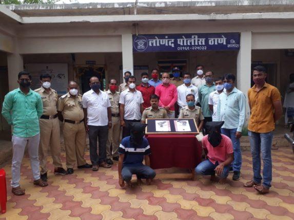 मंगेश पोमन खून प्रकरण : आरोपी ऋषीकेश पायगुडे याला दोन पिस्टल, जिवंत राऊंडरसह लोणंद पोलिसांनी घेतले ताब्यात
