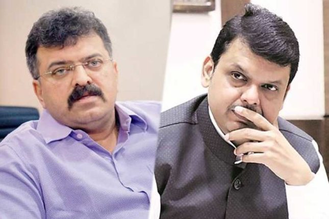 BJP supplies against Sarnaika; What exactly happened in the secret meeting between Awhad and Fadnavis