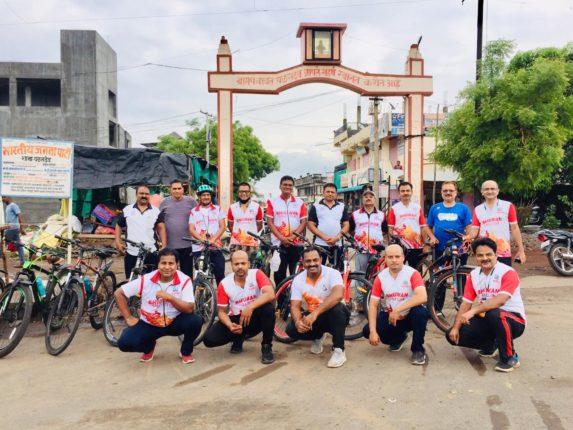 'सायकल चालवा, रोगप्रतिकारक शक्ती वाढवा' : जागतिक सायकल दिन भिगवण क्लबच्या वतीने साजरा