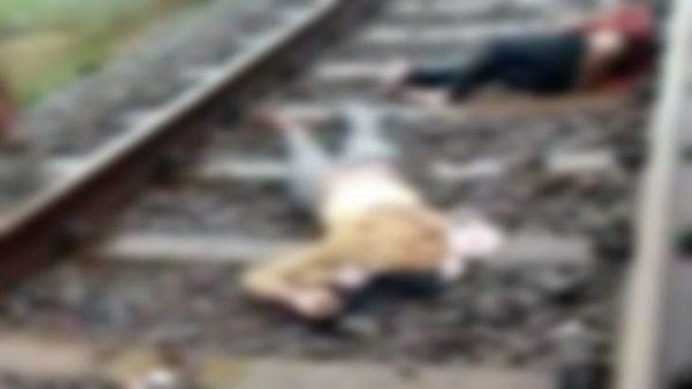 ५ मुलींसह मातेची रेल्वेखाली आत्महत्या, दारुड्या पतीला वैतागून टोकाचा निर्णय, परिसरात हळहळ
