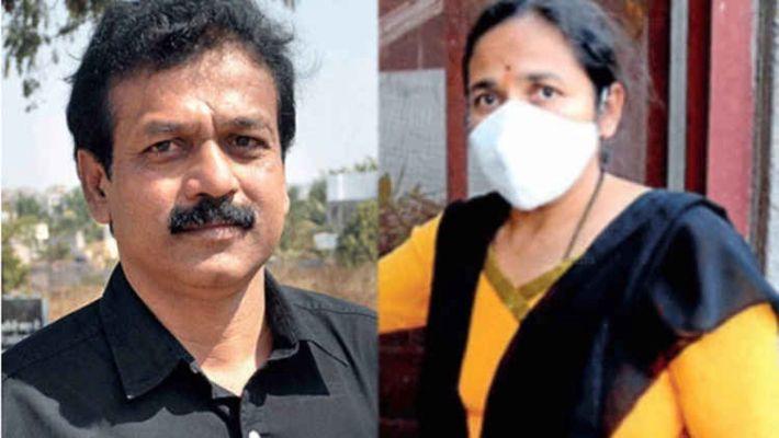 माहिती अधिकार कार्यकर्ता रविंद्र बऱ्हाटेची पत्नीला गुन्हे शाखेकडून अटक