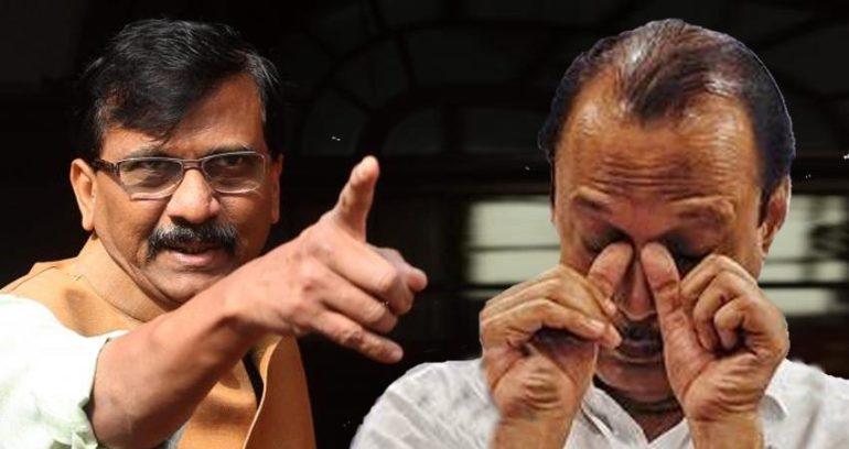 Shiv Sena-NCP dispute; Sanjay Raut's direct warning to Deputy Chief Minister Ajit Pawar