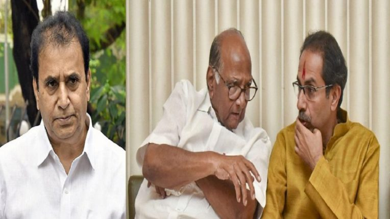 Sharad Pawar with trusted ministers at Varsha Bungalow: Disturbed with CM; Pratap Sarnaik's letter bomb and discussion on the issue of alignment with BJP