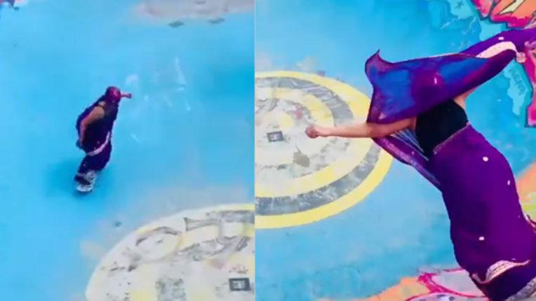 aunty-skating-viral-video