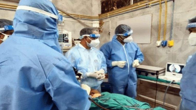 बीडच्या जिल्हा रुग्णालयात म्युकरमायकोसिसची पहिली शस्त्रक्रिया यशस्वी…