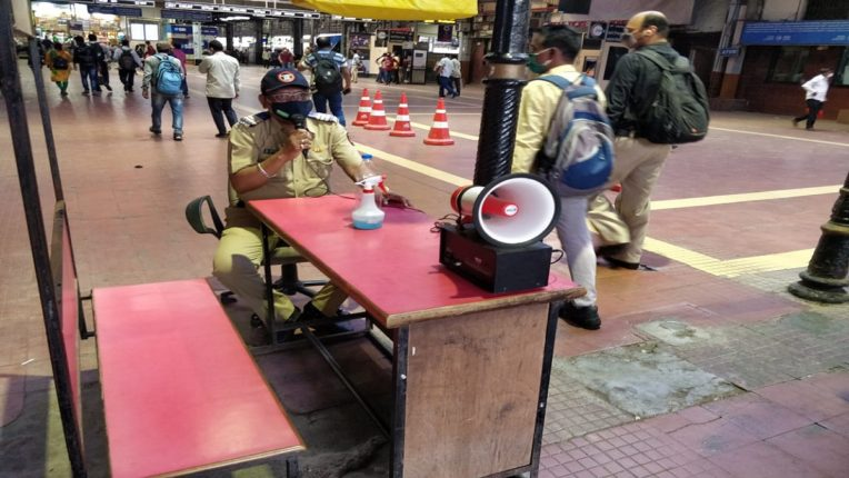 Gujarati language announcement at CSMT station; Awareness among railway passengers