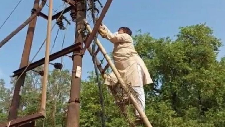 Frequent power outages; The Energy Minister climbed the pole for investigation