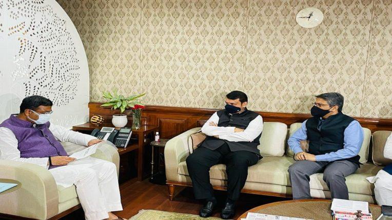 Order to prepare technical feasibility report for petrochemical complex project in Vidarbha; Devendra Fadnavis met Dharmendra Pradhan