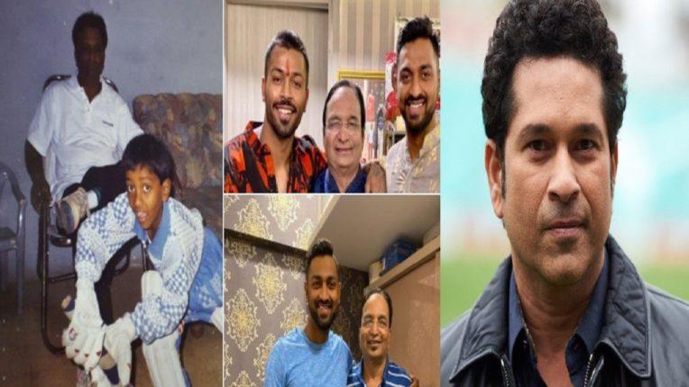 Tendulkar shares video of his father's memory; Pandya, Rashid also became emotional