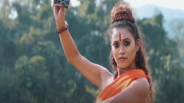 girl tandav dance