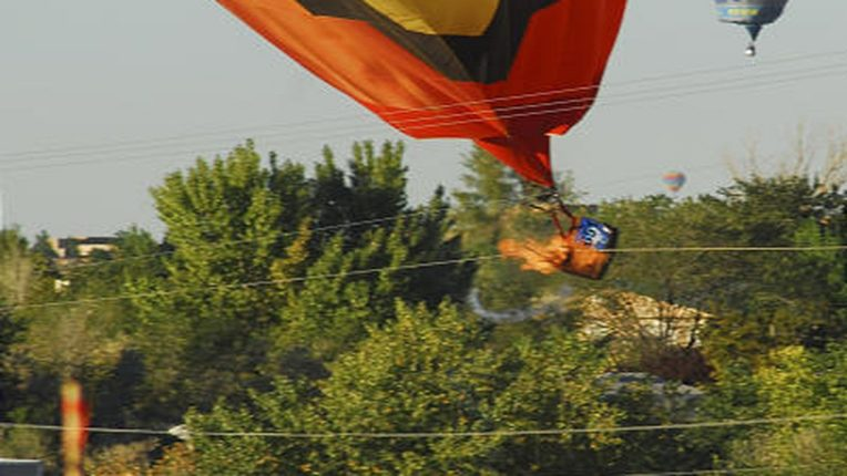 A hot air balloon exploded in New Mexico, killing five people