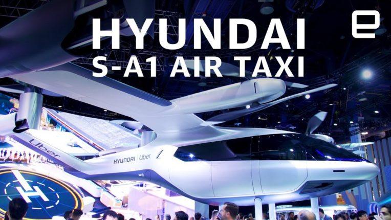 Hyundai's flying taxi