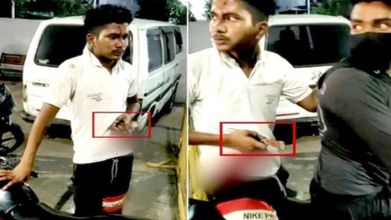 मित्राने केला हत्येचा प्रयत्न, पोटात अडकलेला चाकू घेऊन तरुण पोहोचला पोलीस ठाण्यात…