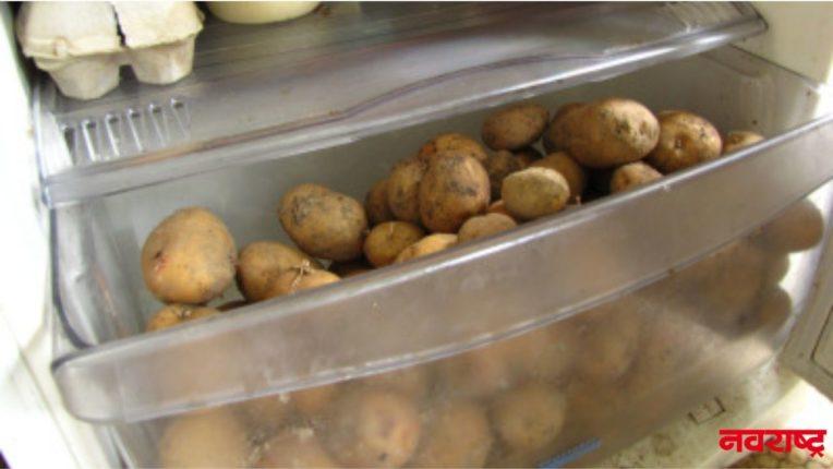 बटाटे फ्रिजमध्ये ठेवत असाल तर लगेच व्हा सावध; आरोग्याला होऊ शकतो 'हा' धोका