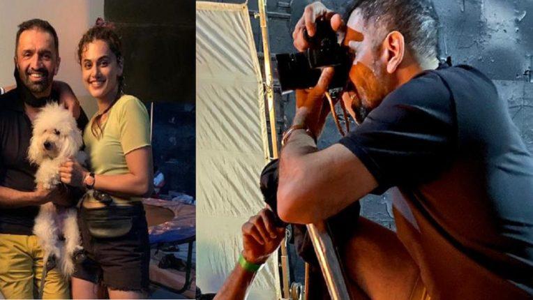 जेव्हा निर्माताच चित्रपटाचं पोस्टर शूटसाठी कॅमेरा हातात घेतो तेव्हा…