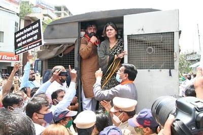 BJP leader Pankaja Munde, MLA Mahesh Landage in police custody; The fuss of the rules of social discrimination