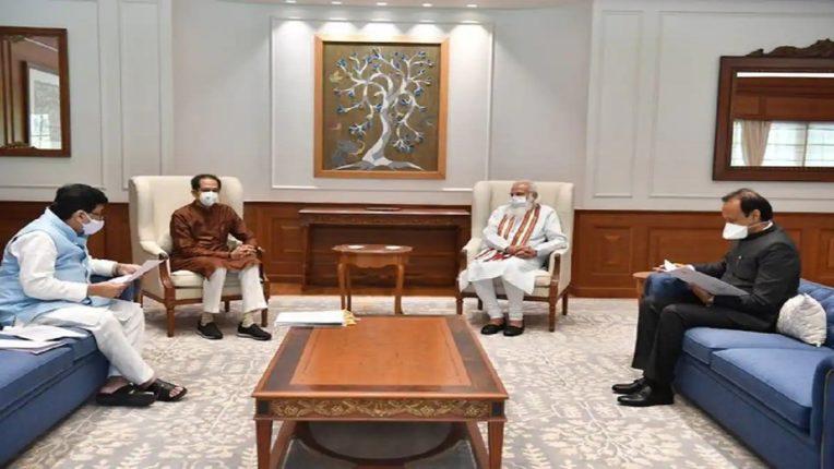 बीडचा पीक विमा पॅटर्न राज्यात राबवा; मुख्यमंत्री, उपमुख्यमंत्री व शिष्टमंडळाने केली पंतप्रधानांच्या बैठकीत मागणी