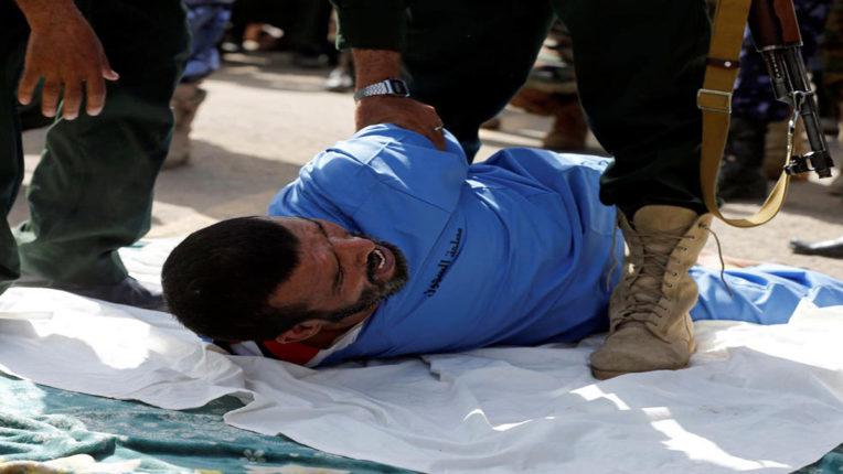 public execution in yemen