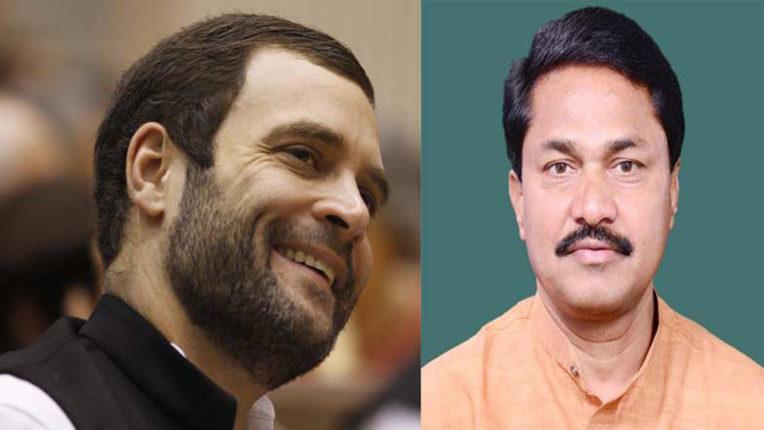 rahul gandhi and nana patole