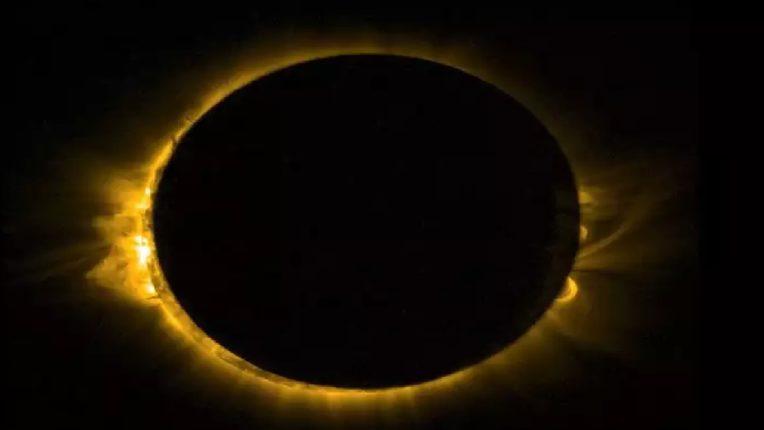 आज २०२१ वर्षातील पहिले सूर्यग्रहण भारतात दिसणार , 'Ring of Fire' चे दृश्य ; अशी असेल वेळ ?