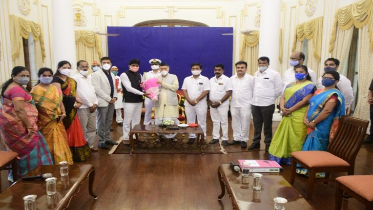 Sarpanch Council delegation meets Governor; Discussion on various topics