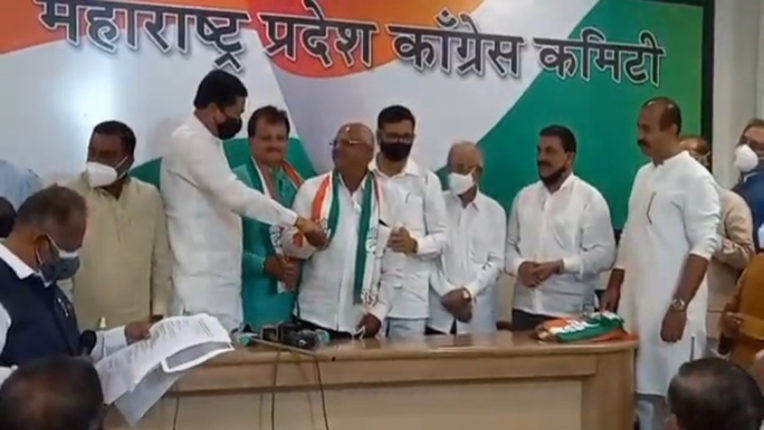 sharad patil back in congress
