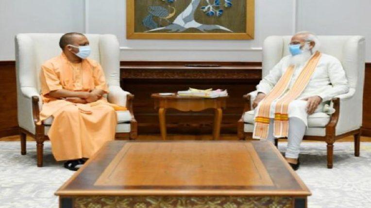 पंतप्रधान नरेंद्र मोदी आणि योगी आदित्यनाथ यांची भेट, नेमकं भेटीमागचं कारण काय?