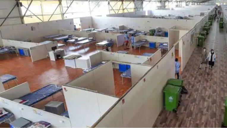 नेस्को जम्बाे कोविड केंद्रात २४ तास रोगनिदान प्रयोगशाळा