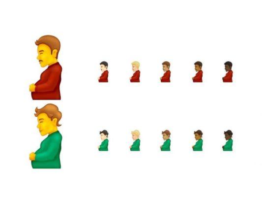 .. पण चर्चा होतेय गर्भवती पुरूष इमोजीची ;Emoji १४. ०रिलीज