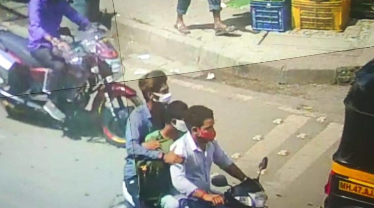 The search for the accused; Jewelers in Dahisar were shot all day