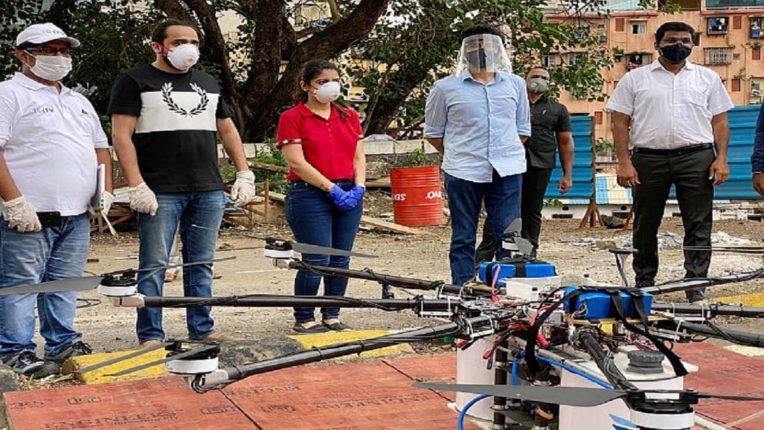डेंग्यू, मलेरिया रोखण्यासाठी वरळीत ड्रोनने सॅनिटायझेशन!; अडगळीच्या ठिकाणी होणार वापर