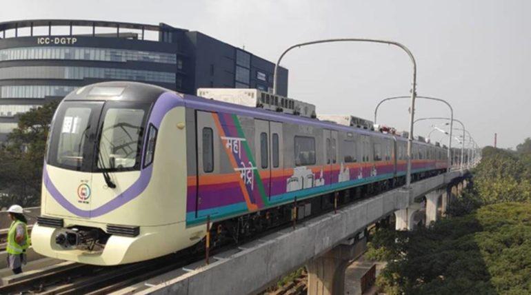 पुण्यात मेट्रो अखेर धावली; अजित पवारांच्या हस्ते ट्रायल रनचे उद्घाटन