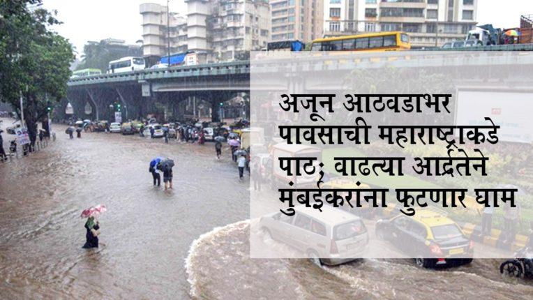 अजून आठवडाभर पावसाची महाराष्ट्राकडे पाठ; वाढत्या आर्द्रतेने मुंबईकरांना फुटणार घाम
