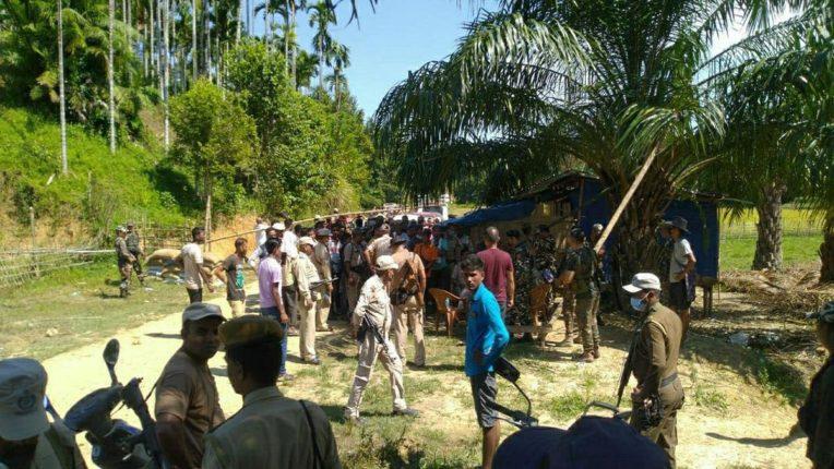 Storm firing on Assam-Mizoram border; Six policemen were killed and Marathmole police officer Vaibhav Nimbalkar was injured