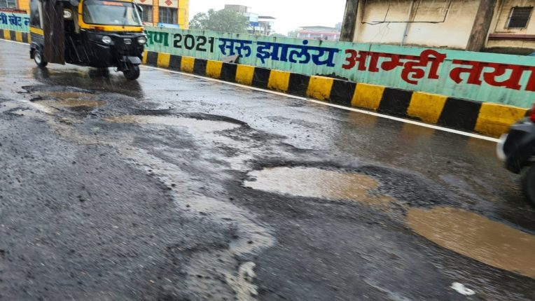 Subway closed, potholes everywhere; How to travel by flyover?