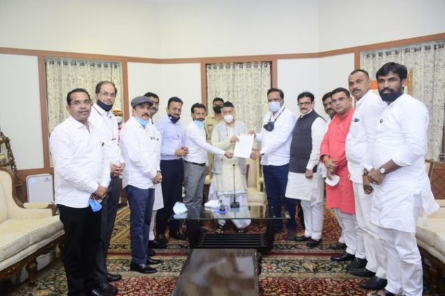 Sensational claim of BJP MLAs suspended by Thackeray government; Meeting with the Governor