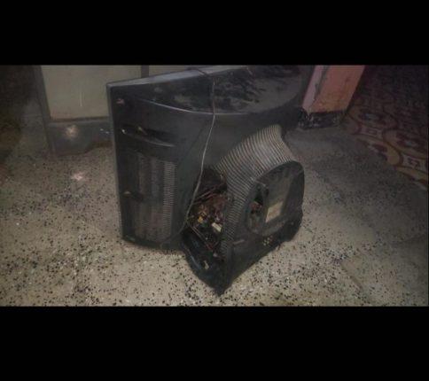 काळोशीत 'हायवोल्टेज' धमाका ! तीस ते पस्तीस टिव्ही जळाले